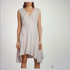 AllSaints Miller Lace-Up Dress